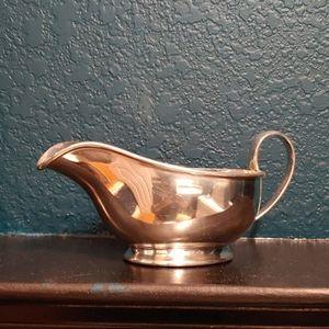 Bentalls Hotel Silver Gravy Boat
